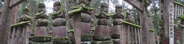 高野山金剛峯寺 奥の院(高野町)信州松本水野家墓所