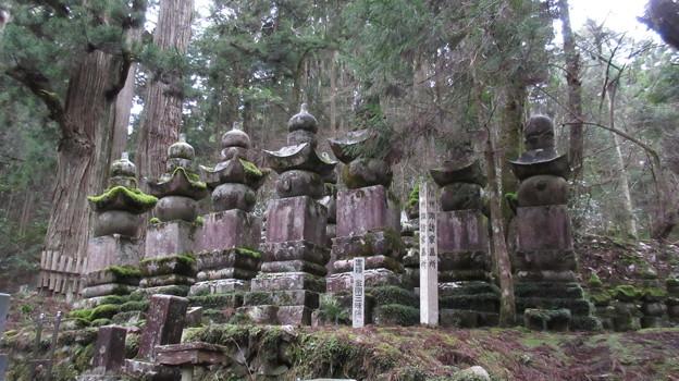 高野山金剛峯寺 奥の院(高野町)信州諏訪家墓所