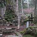 Photos: 高野山金剛峯寺 奥の院(高野町)北海道松前 松前家墓所