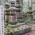 Photos: 高野山金剛峯寺 奥の院(高野町)羽州新荘城主戸澤家墓所
