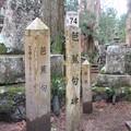 写真: 高野山金剛峯寺 奥の院(高野町)芭蕉句碑