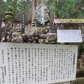 写真: 高野山金剛峯寺 奥の院(高野町)父母恩重碑