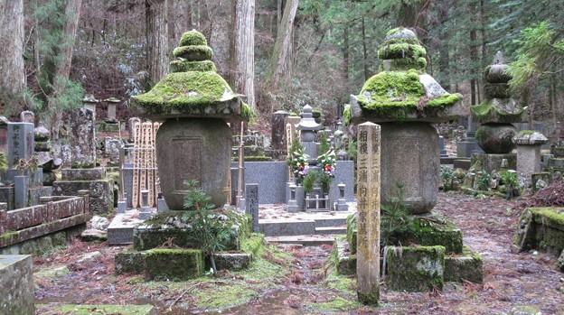 Photos: 高野山金剛峯寺 奥の院(高野町)相模三浦向井家墓所