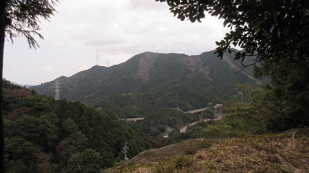 鈴鹿峠(三重県亀山市~滋賀県甲賀市)眺望