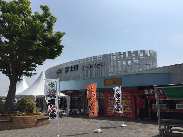 東名高速下り 富士川SA