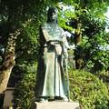 菩提樹院(葵区)由井正雪像