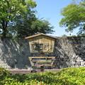 駿府城(葵区。静岡市営 駿府城公園)二の丸大手御門