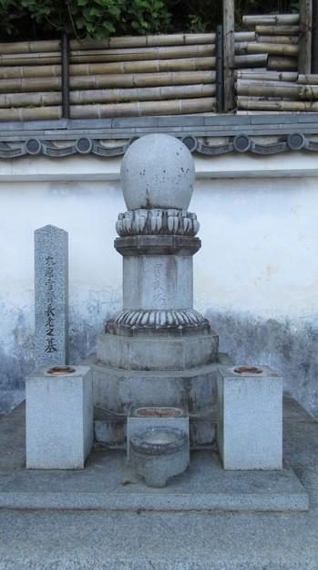 臨済寺(葵区)太原雪斎墓