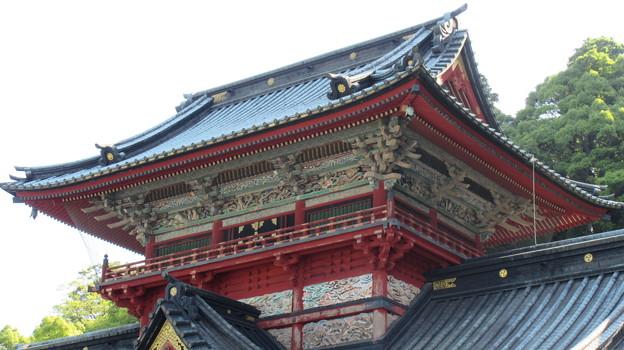 駿河国総社 浅間神社(静岡市葵区)大拝殿(二階拝殿)