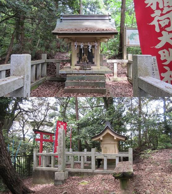 丸子城(駿河区)丸子稲荷社
