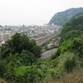 写真: 持船城(駿河区)竪堀