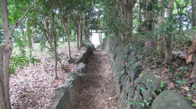石脇城(焼津市)