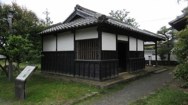 田中城下屋敷(藤枝市)仲間部屋・厩