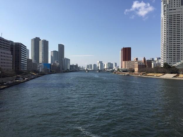 17.02.17.佃大橋より(中央区)