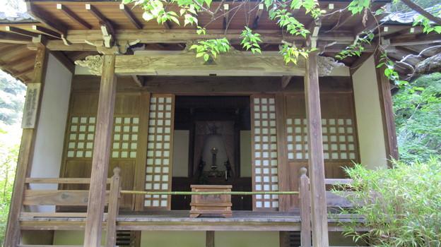 明月院(鎌倉市)北条時頼公御廟