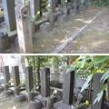 谷中霊園(台東区)大久保利通暗殺犯6名墓