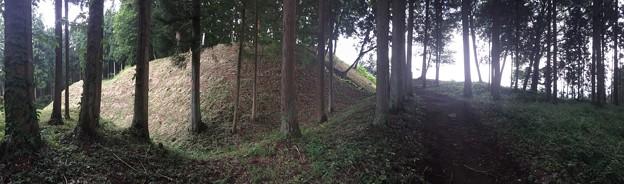 岩櫃城(東吾妻町)本丸・二の丸