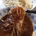 Photos: そうめんでカレつけ(゜□、゜)