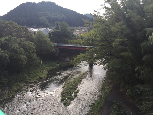 五日市橋 秋川/来住野氏城館(あきる野市)