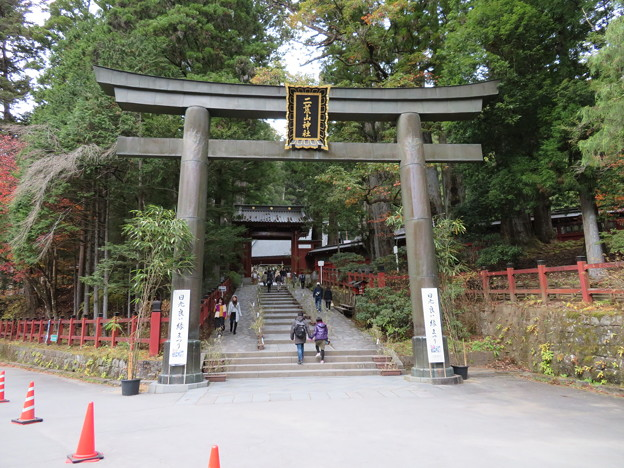 日光二荒山神社(栃木県)大鳥居