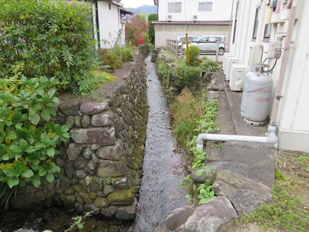 小幡陣屋・楽山園(甘楽町小幡)雄川疏水