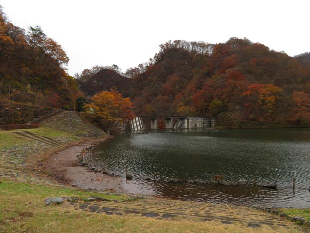 碓氷湖(安中市)坂本ダム・坂本城