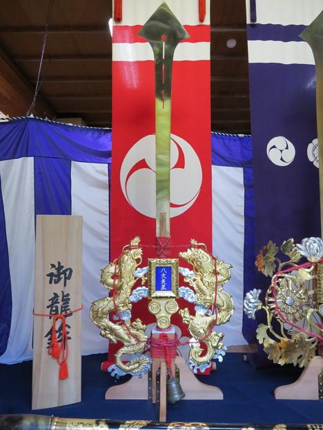 八大神社(左京区)剣鉾