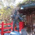 八大神社(左京区)宮本武蔵像