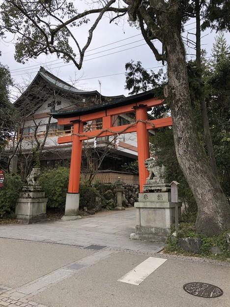 Photos: 宇治神社(宇治市)鳥居