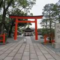 Photos: 鳥羽・伏見合戦古戦場(伏見区)城南宮鳥居