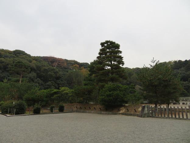 木幡山伏見城(伏見区)山里丸より本丸