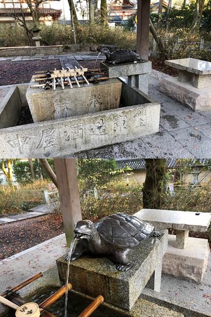 松尾大社(西京区)手水舎