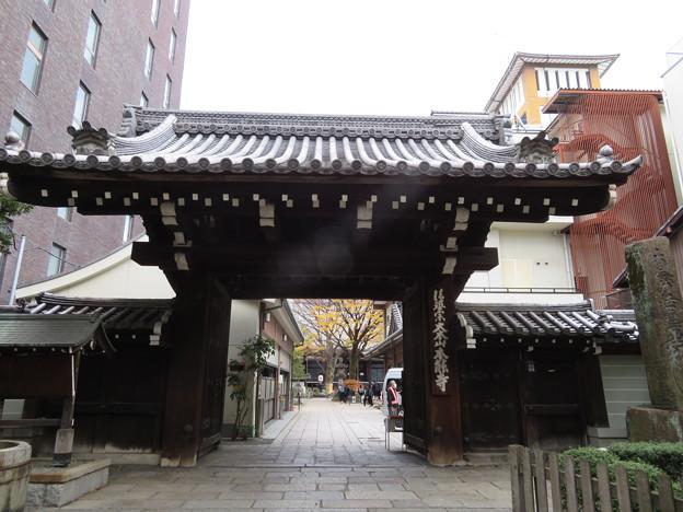 本能寺(中京区)山門