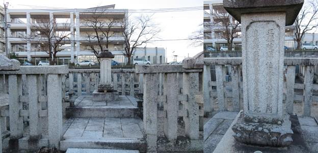 縁心寺(大津市)戸田一西(かずあき)墓