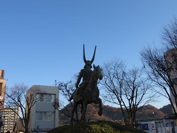 井伊直政像(彦根市)