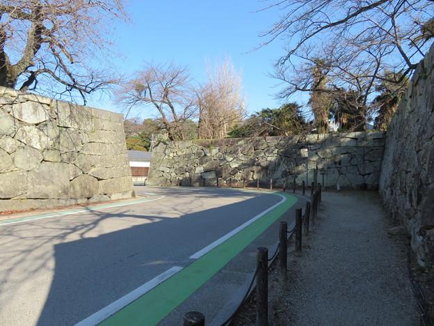 彦根城(彦根市)京橋御門跡