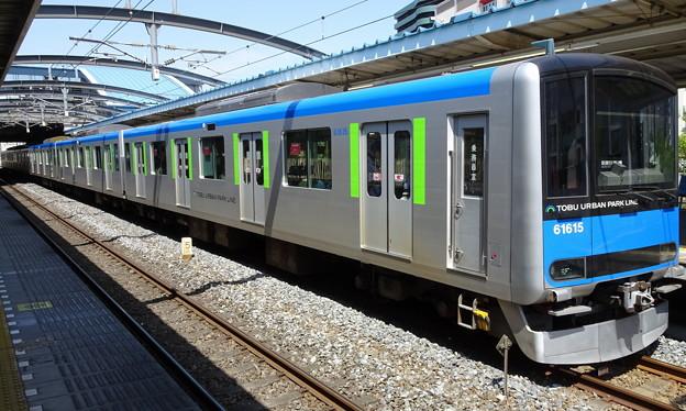 東武アーバンパークライン(野田線)60000系(皐月賞当日)