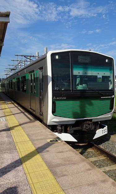 JR東日本大宮支社 烏山線EV-E301系「ACCUM」