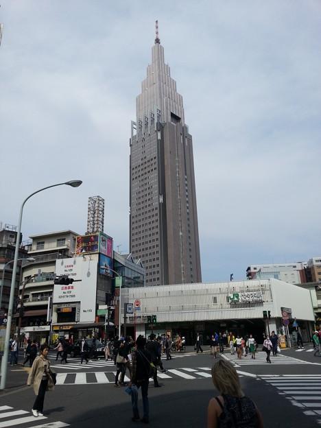 代々木駅周辺 ぶらり散歩 ドコモタワーが良く見える(^-^)