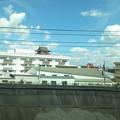 写真: 新幹線から清洲城見えた