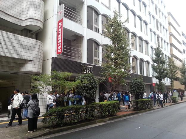信長の忍び イベント会場到着~(*^^*)  ここって美容専門学校だよねw