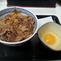 私のマイブーム  牛丼  玉子かけご飯♪