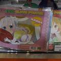 Photos: コミケ93 京アニブース 小林さんちのメイドラゴン トール様 カンナちゃん ドラゴンサイズ布ポスター