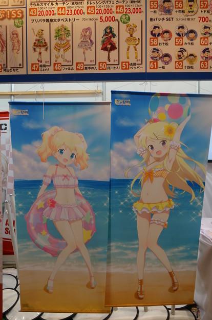 Photos: コミケ93 きんモザ  アリス&カレン 水着タペストリー