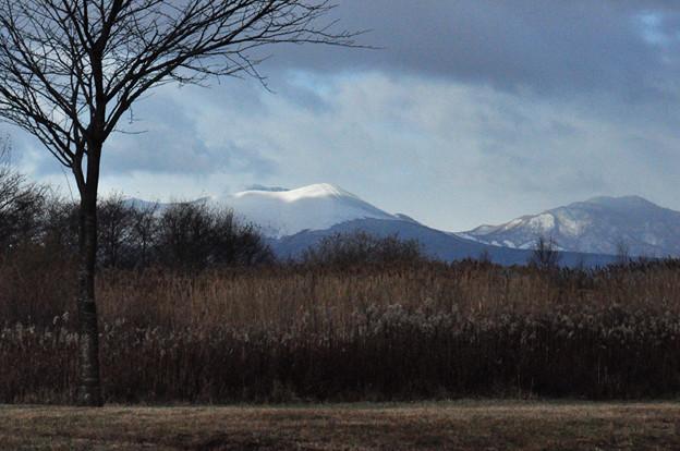 樽前山の冠雪