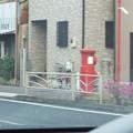 小田原市内 丸ポスト 車窓から