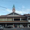 長野県小海町 小海駅前丸ポスト4