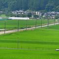 写真: 田舎の車窓から