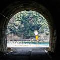 写真: 小さなトンネル