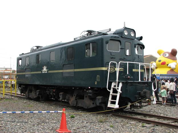 秩父鉄道デキ201 2009-5-16